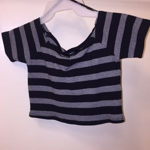 NEW Forever 21 Knit Crop Top / Off Shoulders